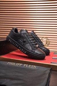 Мужская высококачественная кожа pp череп мужская повседневная обувь мужская спортивная обувь-0019