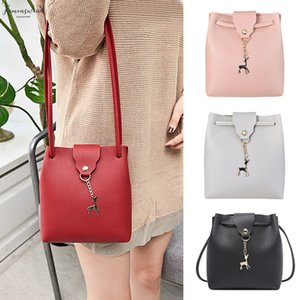 Women Shoulder Bag Pu Leather Pu Satchel Small Deer Handbag Lady Crossbody Messenger Bag Best Sale Wt