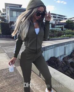 New 2019 2Pcs Women Set Ladies Tracksuit Crop Tops Hoodies Sweatshirt Pants Sets Without Logo Lady Leisure Wear Casual Suit Plus Size