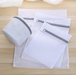 Borse di spessore per il lavaggio Bra calzini biancheria intima della biancheria rete con zip lavanderia Bag lavatrice Dirty Laundry Borse per i vestiti lavaggio kit