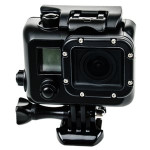 Waterproof Case Blackout Box Underwater Protective Diving Housing Replacement for GoPro Hero 3 4 Camera