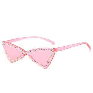 calle cristalina de la manera diamante Ne tiro gafas de sol gafas de sol retro 2020 nueva moda de la calle tiro gran marco cuadrado 9LI6W QyPBr