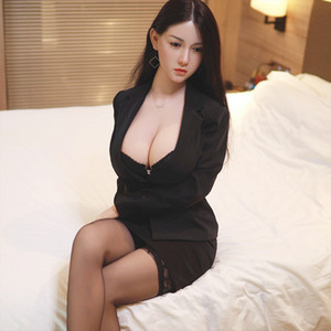 full silicone Metal skeleton TPE silicone sex doll super real big breast japanese 18 pussy love doll