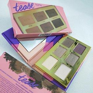 Tarteist 6 couleurs fard à paupières tartelette allumeuse faire tarte marque jusqu'à la palette d'ombre à paupières dhl Livraison gratuite