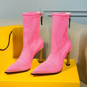 bottes bottines en cuir nubuck Tooling nus ont souligné orteils femmes simples chaussures botte courte bottes Martin