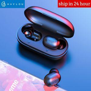 Haylou GT1 TWS بصمات الأصابع التي تعمل باللمس بلوتوث 5.0 سماعة الرياضة للماء في الأذن سماعات الأذن إلغاء الضوضاء الألعاب H