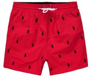 tecido moda por atacado calças dos homens de verão praia roupas calções swimwear nylon nadar calções esportesRalph Lauren