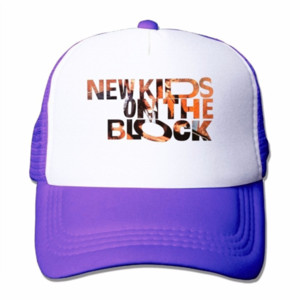 New Kids On The Block Mesh Caps Skate Trucker Caps Unisex adulti comodi cappelli da baseball
