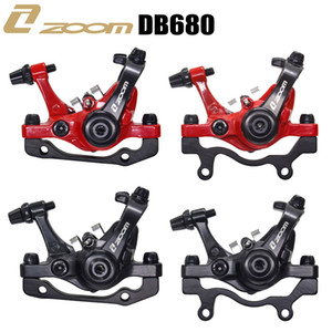 Zoom aluminum alloy mtb bicycle disc brake mountain road mtb mechanical caliper disc brakes cycling double brake