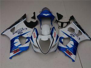 Bodys para a Suzuki GSXR 1000 GSXR1000 GSXR1000 2003 ~ 2004 Quadro azul escuro novo 14HC.30 GSXR1000 K1 03 04 GSXR1000 kit 2004 Fairing 2003