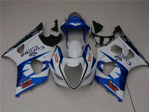 Bodys para Suzuki GSXR1000 1000 GSXR1000 marco azul oscuro nueva 14HC.30 GSXR1000 K1 03 04 GSXR1000 kit de carenado 2004 2003 2004 2003 ~