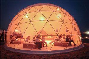 Tenda gonfiabile resistente al fuoco della cupola di tennis per l'evento del partito, tenda gonfiabile impermeabile del magazzino