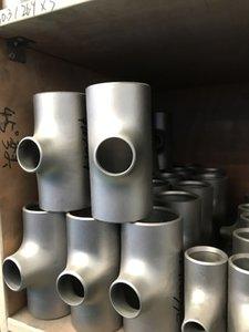 Resistenza alle alte temperature Gr2 Titanium Tee Manufacture Titanium forgiato a gomito T-shirt in titanio GR2