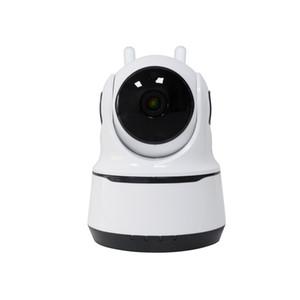 2020 최신 스마트 홈 무선 Wifi IP 카메라 귀여운 아기 모니터 카메라 두 방식으로 오디오 나이트 비전 카메라 휴대 전화 원격 모니터링
