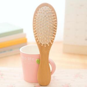 Bois récent Bambou cheveux Vent Brosse Brosses Soins des cheveux et Beauté SPA massage Massage peigne 225 * 60mm