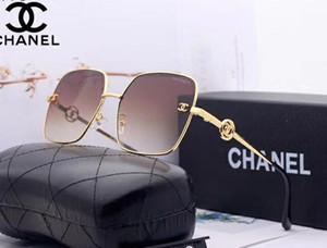 2020 Newkk arrivo degli occhiali da sole degli uomini delle donne oversize vetri quadrati UV400 Gradient Vintage nuovo progettista occhiali montature a giorno in vetro UV400