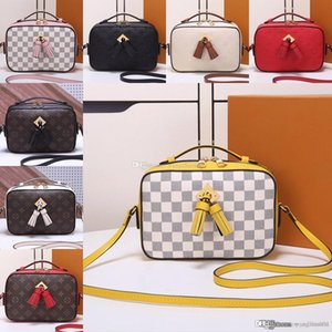 SAINTONGE female CrossBody bags N40155 Shoulder bags M44593 women Messenger bag Evening bag leather purse Female wallet with box