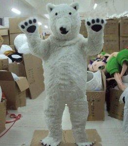 2019 продажа завода ЕВА Материал Шлем Полярный медведь Костюмы талисмана гуляя мультфильм Одежда День Рождения рекламы Хэллоуин