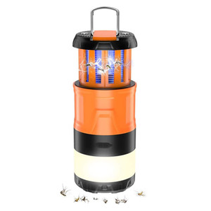 Camping-Laterne, 3 in 1 Elektro Bug Zapper LED-Laterne-Moskito-Mörder-Laterne-Moskito Zapper Wiederaufladbare Laterne-Ideal Camping Accessori