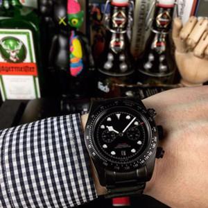 Nouveau Top Qualité Watch Bay Black Men M79350-0004 Mouvement automatique 42mm cadran en acier inoxydable 316 Montre à bracelet élégant Gentleman