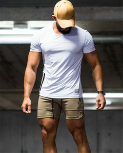 Hommes Mens Designer Summer Shorts Pants Solid Color Sports Fitness Wolf Letters Elastic Waist Shorts GYM Skinny Shorts