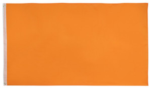 Dekoratif Canlı Saf Renk Bayraklar Banner Asma Uçan Turuncu Bayrak 3x5 ft Özel Solid Orange Bayrak Banner 1.5x0.9m