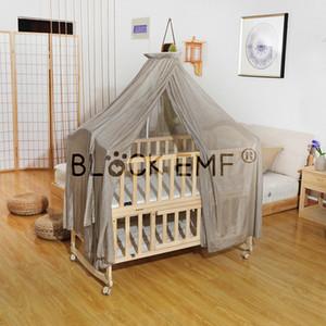 BLOCK EMF Анти-излучения прозрачность сетчатой ткани младенца EMF кровать пологом москитная сетка для здоровья защитить детей к