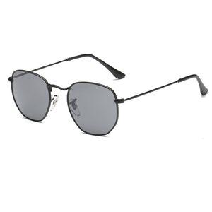 Fashion Sun Glasses Retro Men Women Sunglasses Metal Legs Coating Reflective Sunglasses New Glasses UV400 Protection Eyeglasses Sun Shades