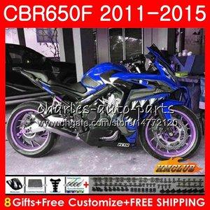 Corpo per HONDA CBR650F verdesca CBR650F 2011 2012 2013 2014 2015 42HC.89 CBR650 F CBR650 CBR 650 F CBR 650F 11 12 13 14 15 16 carenature
