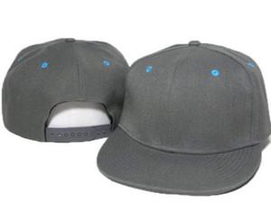 Yeni Katı Düz Boş Snapback Şapka Erkek Kadın Beyzbol Kapaklar Futbol Kapaklar Ayarlanabilir Basketbol Ucuz Online