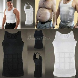 Mens belly belt 강력한 슬리밍 복부 조끼 바디 셰이퍼 조형 압축 거들 벨리 버스터 Shapewear 속옷 조끼