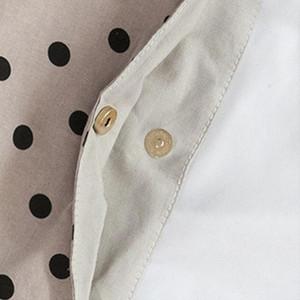 Femmes Casual doux Sac à main Shopping Mode Impression Tote Sac grande capacité d'épaule Sac de plage Polka Dot Messenger livre