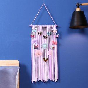 Bebek Saç Baş Tutucu INS Bebek Firkete Askı Kız Kıllar Klipler Depolama Organizatör Moda Çocuk Hairwear Depolama Kemer TTA1655