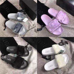 Designer Slippers Women Sandal Luxury Girl Flip Flops Fashion Black Slippers Animal Colors Sandals High Quality Cheap Shoes Big Size 36-4#420