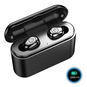X8S Bluetooth sem fio fone de ouvido TWS Mini Bluetooth 5.0 Headphone Com carregamento Stereo Box 2200mAh Sports Headset para iOS Android