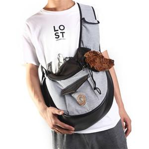 2019 pet bag out carrying bag breathable folding cat bag shoulder pet backpack diagonal dog backpack