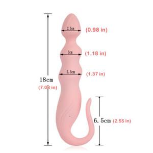 Вибрирующий фаллоимитатор вибратор 10 Скорость G пятно массажер анальный штепсельная вилка для взрослых Секс A143