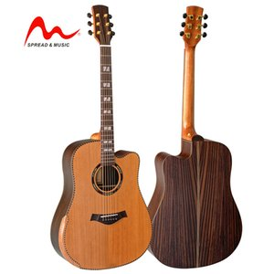 41 inch OEM wholesale price quality acoustic guitar excellent sound HW-18RUDC