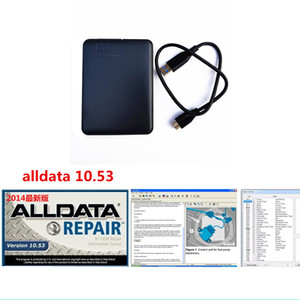2019 Auto Repair Alldata Soft-ware and All data 10.53 car soft-ware in 640GB HDD usb3.0 for cars and trucks fit windows 7 8