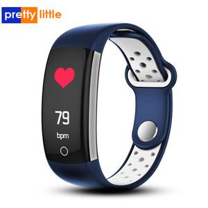 스마트 팔찌 혈압 측정 스마트 시계 심장 박동 방수 피트니스 Q6 스포츠 시계