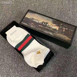 Nouveau gros Bas Jaune de Vetements Noir Homme Ouverture Mode Hommes Sports sockings Lettre Imprimer dans le tube chaussettes de coton
