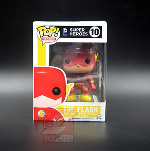 Anime Hand Do Großhandel FUNKO POP Flash-Manga Edition 10 # Justice League Super Hero Modell-Puppe