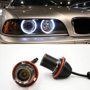 2pcs 20W LED Angel Eyes Halo Marker Anneau Ampoule Canbus pour BMW E39 E53 E60 E61 E63 E64 E65 E66 E87 525i 530i 545i M5
