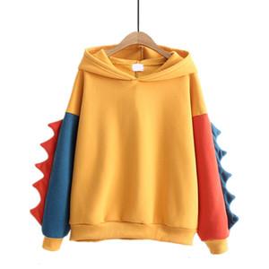 Womens Hoodie Mulheres roupas de grife Moda de Nova Womens capuz Hoodies Outono Inverno bonito Velvet Tamanho Cashmere com capuz Hoodies Feminino