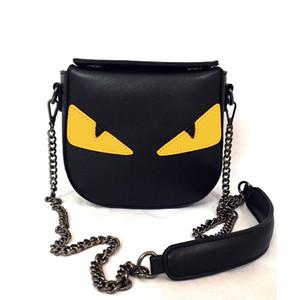 Di buona qualità delle donne sacchetto dell'unità di elaborazione di cuoio promozione mostro Messenger Bag Mini una borsa della spalla della piccola crossbody diagonale increspa la borsa delle donne
