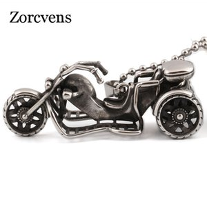 Modyle 2020 New Fashion 316L Stainless Steel Vintage motorcycle Necklace Pendant For Men