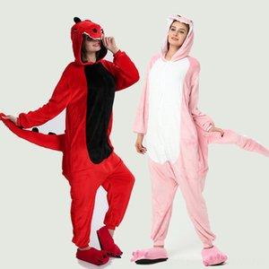 Kigurumi Unicorn Pajama Adult Animal Stitch Onesie Boys Girls Women Blankets & Swaddling Nursery Bedding Men Couple 2019 Winter Pajama Suit