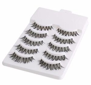 5 pares Handmade Mini Half Corner preto cílios postiços maquiagem ferramentas Natural Eye Lashes cosméticos acessórios