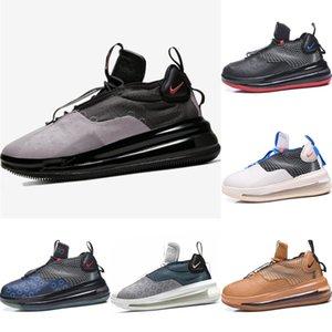 Avec Box 2020 Vagues en cuir et tricot de sport Low Cut Chaussures Originals Waves Tous Zoom Air Cshioning Hauteur Chaussures augmentation