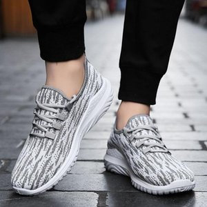 Plus size 11 sneakers man run shoes men sneakers summer trainers boy breathable casual shoes grey men sneaker